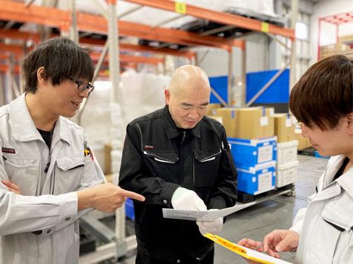 ナンシンは、「顧客に、社会に、社員に役立ち、常に安心を提供する」